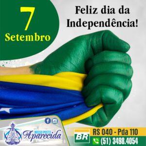 Feliz dia da Independência!