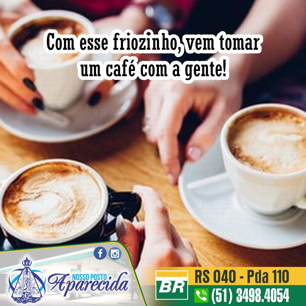 Vem tomar uma café conosco!