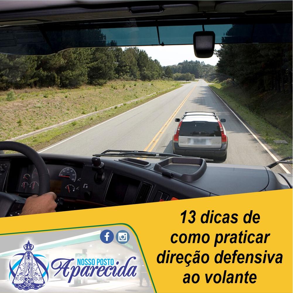 13 dicas de como praticar direção defensiva ao volante
