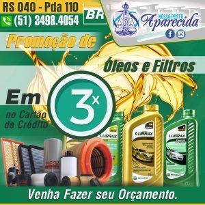 Read more about the article Troca de Óleo e Filtro em 3x nos Cartões de Crédito
