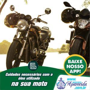 Read more about the article Cuidados necessários com o óleo utilizado  na sua moto
