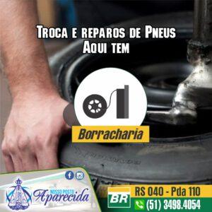 Aqui tem: Borracharia