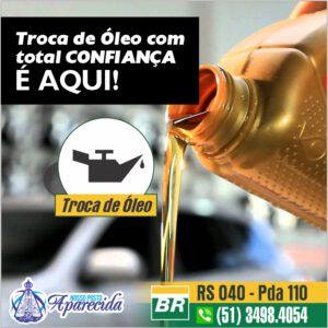 Troca de óleo com total confiança