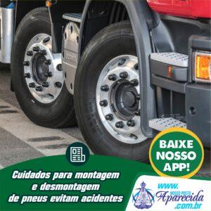 Read more about the article Cuidados para montagem e desmontagem  de pneus evitam acidentes