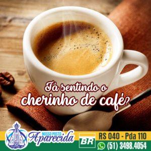 Sente o cheirinho de café?