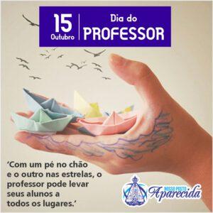 Read more about the article Dia 15 de Outubro – Dia do Professor