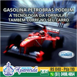 Read more about the article Gasolina Petrobrás Podium