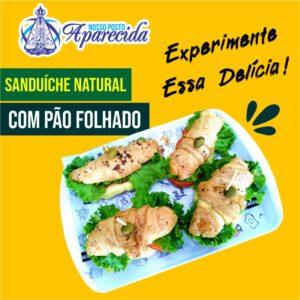 Read more about the article Sanduíche Natural com pão folhado