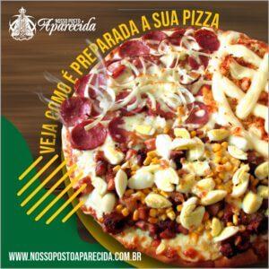 Como é o preparo da Pizza?