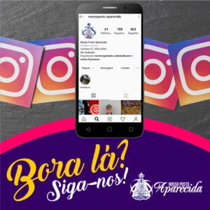 Siga-nos no Instagram!