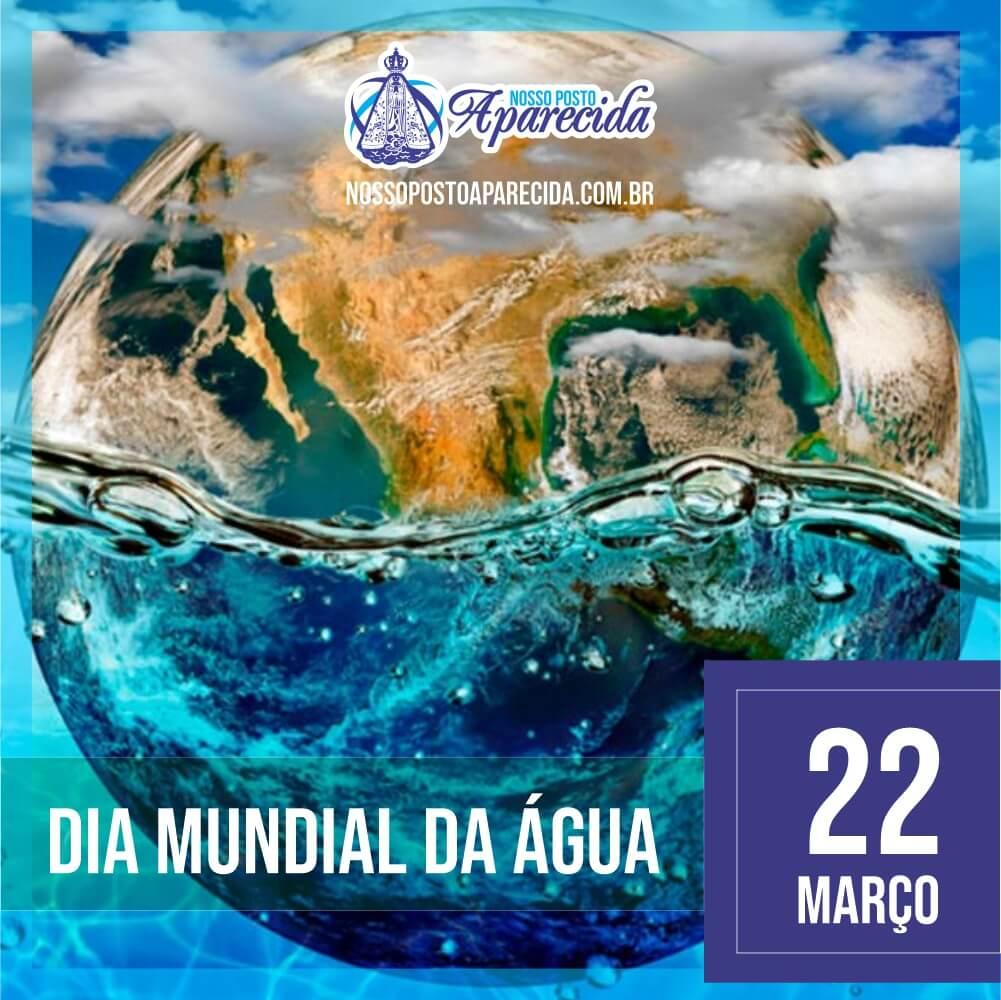 Hoje é dia mundial da água