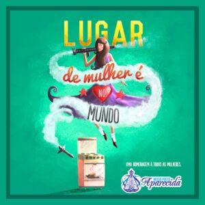 Read more about the article Lugar de mulher é….no mundo