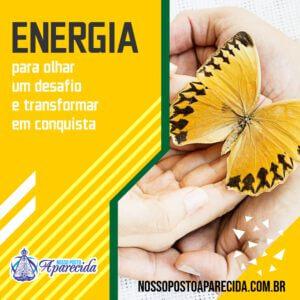 Energia: para olhar um desafio e transformar em conquista