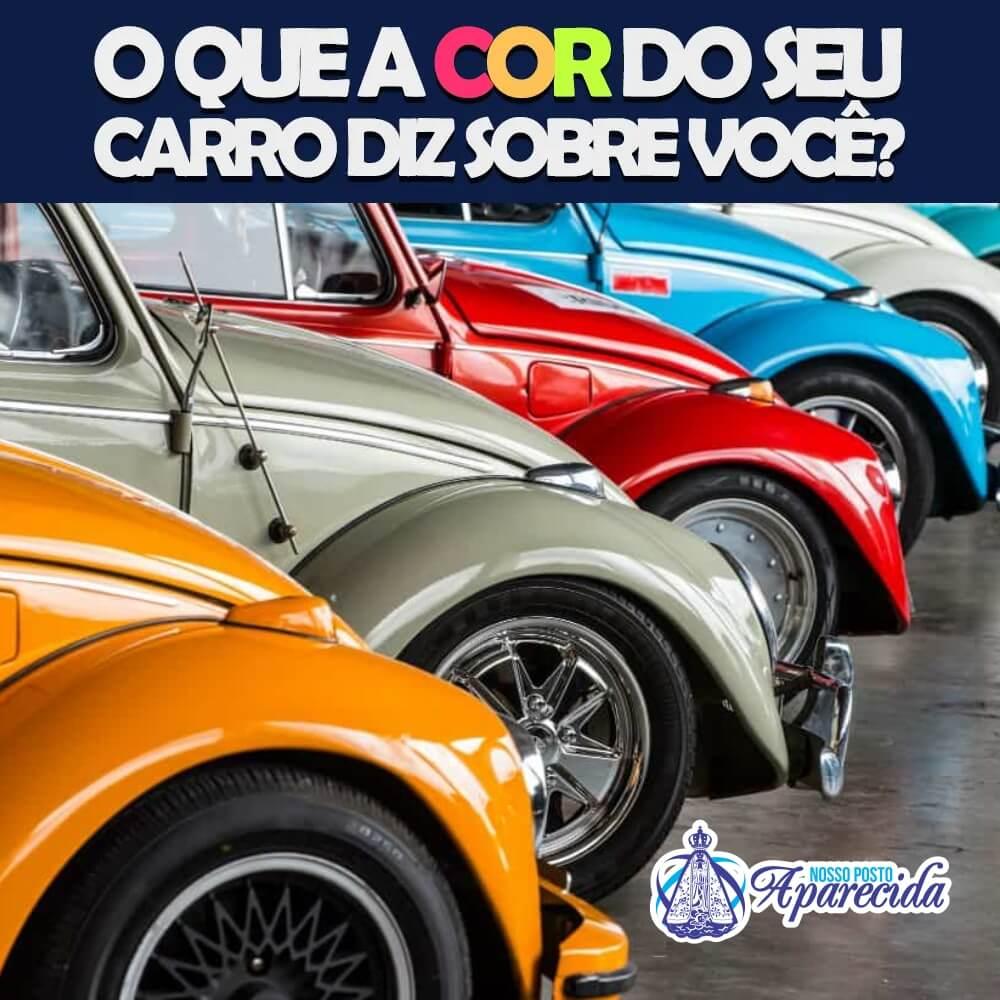 You are currently viewing A Cor do Seu Carro Diz Muito Sobre Você
